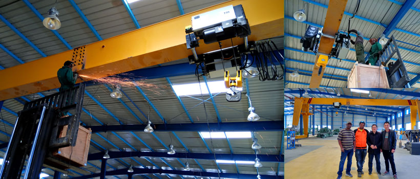 Our-engineers-help-customers-install-10t-gantry-crane