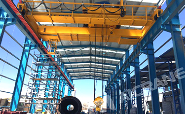 overhead crane for sael in South america