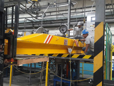 2t Underlung Overhead Crane Delivery to Honduras