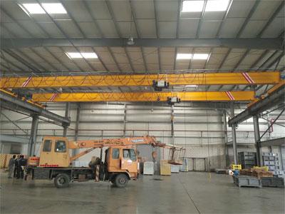 5t-European-Single-Girder-Overhead-Crane-was-Installed-in-Saudi-Arabia-2