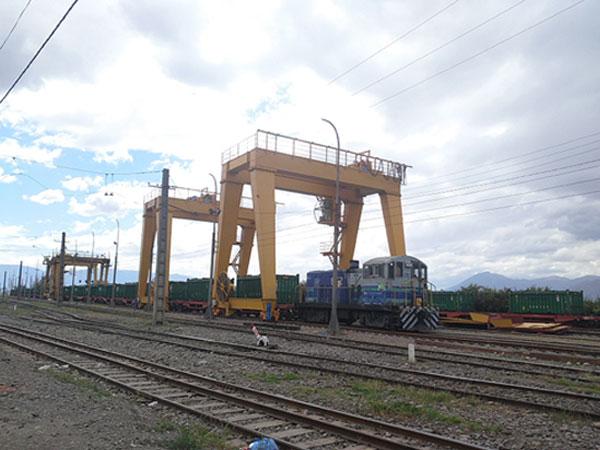 60 ton-double-girder-gantry-crane-in-Malaysia