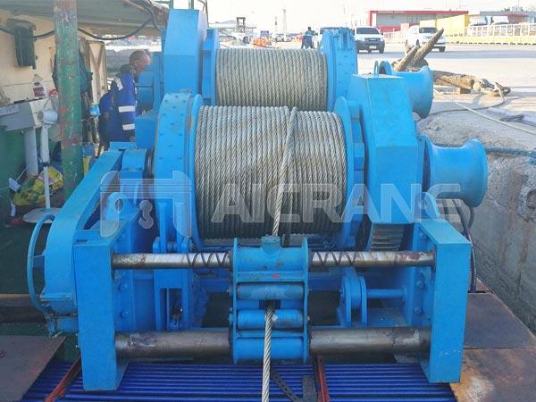 5-100-Ton-Hydraulic-Winch-for-Ship