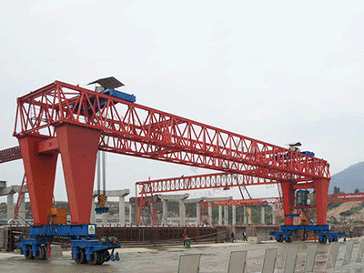 Straddle Carrier Gantry Crane for Construction Manufacturing