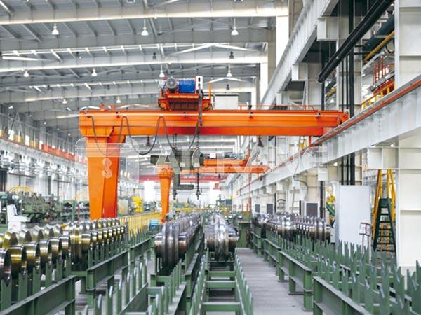 double-girder-semi-gantry-crane-20-ton-for-sale