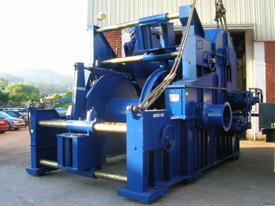 hydraulic-towing-winch