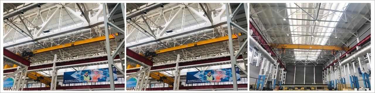 10 ton & 16 ton Overhead Crane Shipped to Uzberkistan