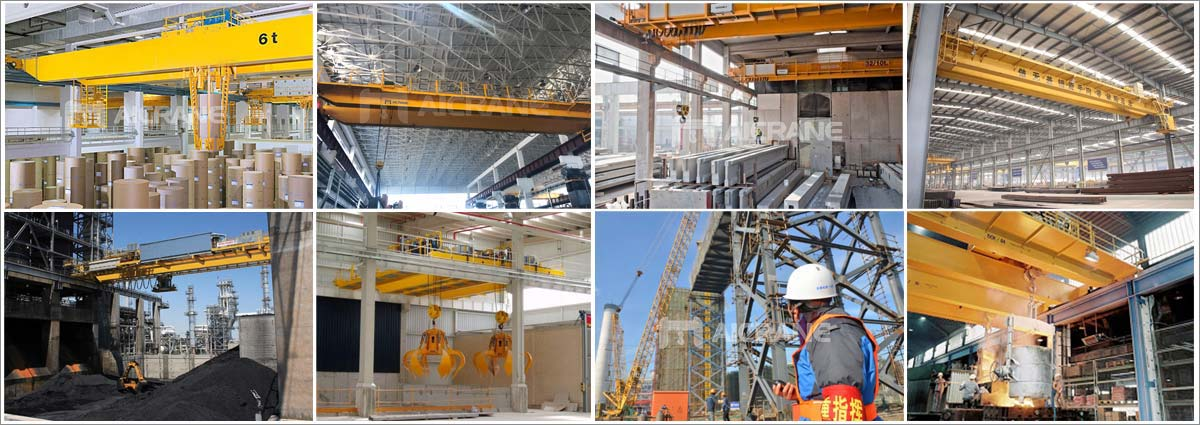 Overhead crane used in different project site