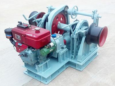 Diesel Anchor Windlass
