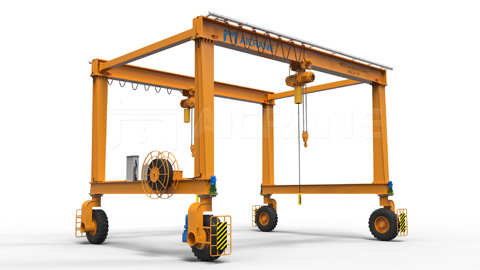 mobile-rubber-tyred-gantry-crane