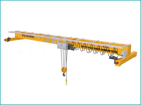 single girder european standard overhead crane