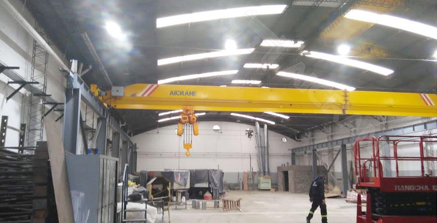 10-ton-overhead-crane-in-Argentina