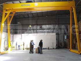 indoor-gantry-crane-double-girder