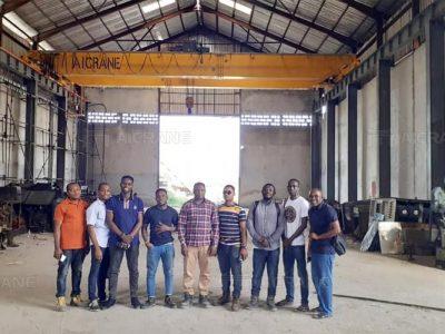 NLH-30-ton-overhead-crane-for-sael-in-Nigeria
